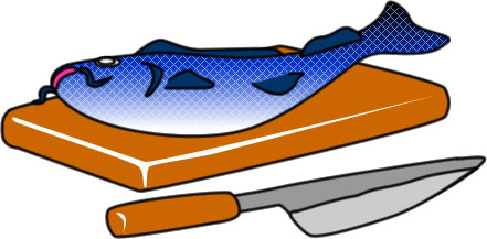 まな板の上の鯉の意味や使い方~手術の時には役立つことわざ!?